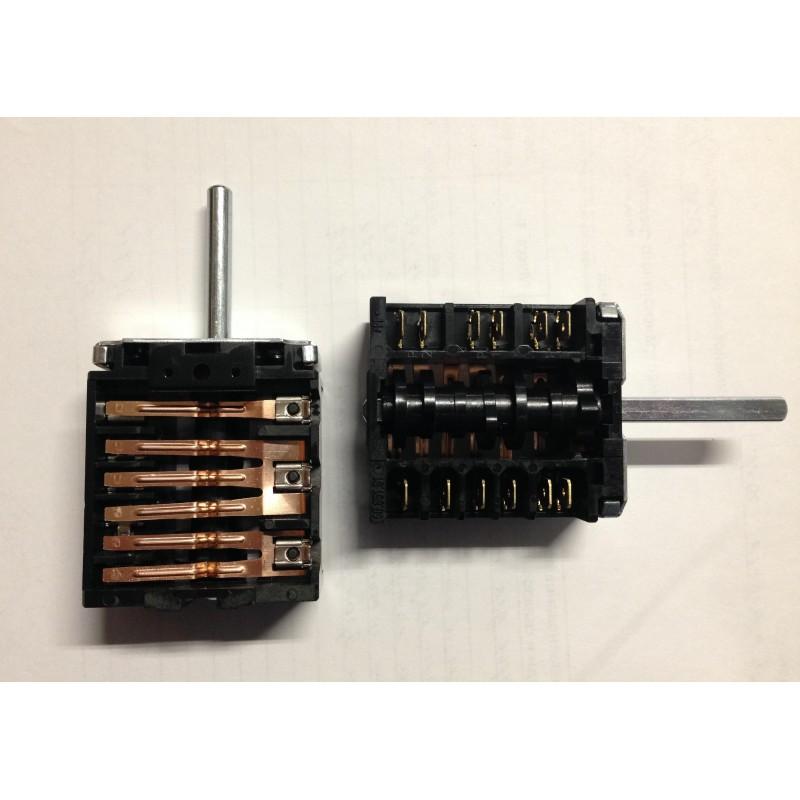 Переключатель мощности духовки 5-ти позиционный плит Гефест модели 1140, 2140, 2160, 3102 EGO 46.25866.509
