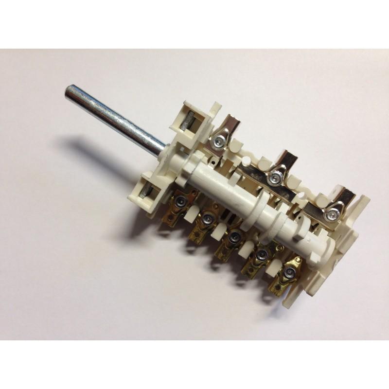 Переключатель конфорки электроплиты 7-ми позиционный для плит Гефест 1140, 2140, 2160 Gottak 870624