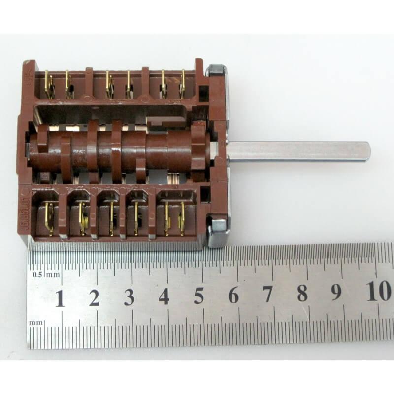 Переключатель конфорки электроплиты 7-ми позиционный для плит Гефест 1140, 2140, 2160 EGO.46.27266.508