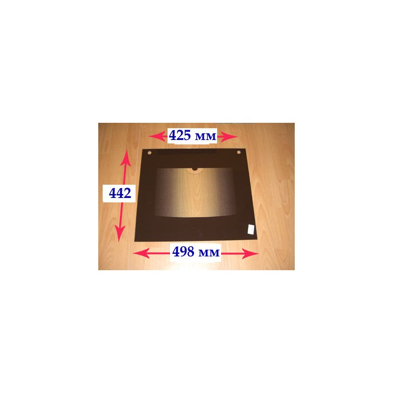 Стекло духовки наружное панорамное для газовой плиты Гефест ПГ 3200-05, 06, 07 К19 (вып. с 01.09.2017 г.) 3200.15.2.000-12