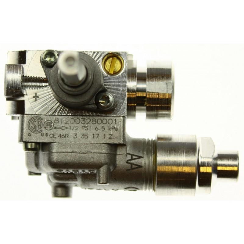Кран газовый 812003280001 плиты Гефест(Gefest) мод. СН2230, с устр. безопасности
