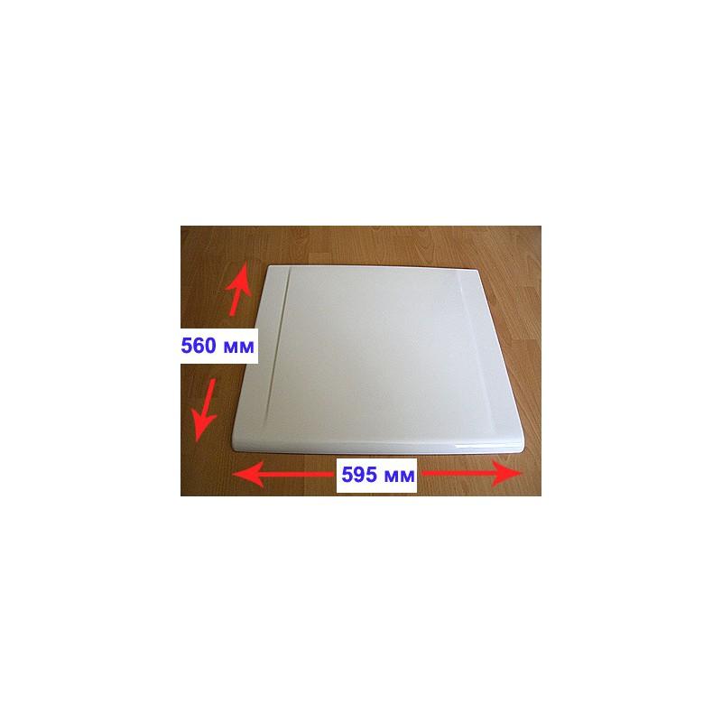 Верхняя крышка плиты Гефест 1200 (белая, коричневая)