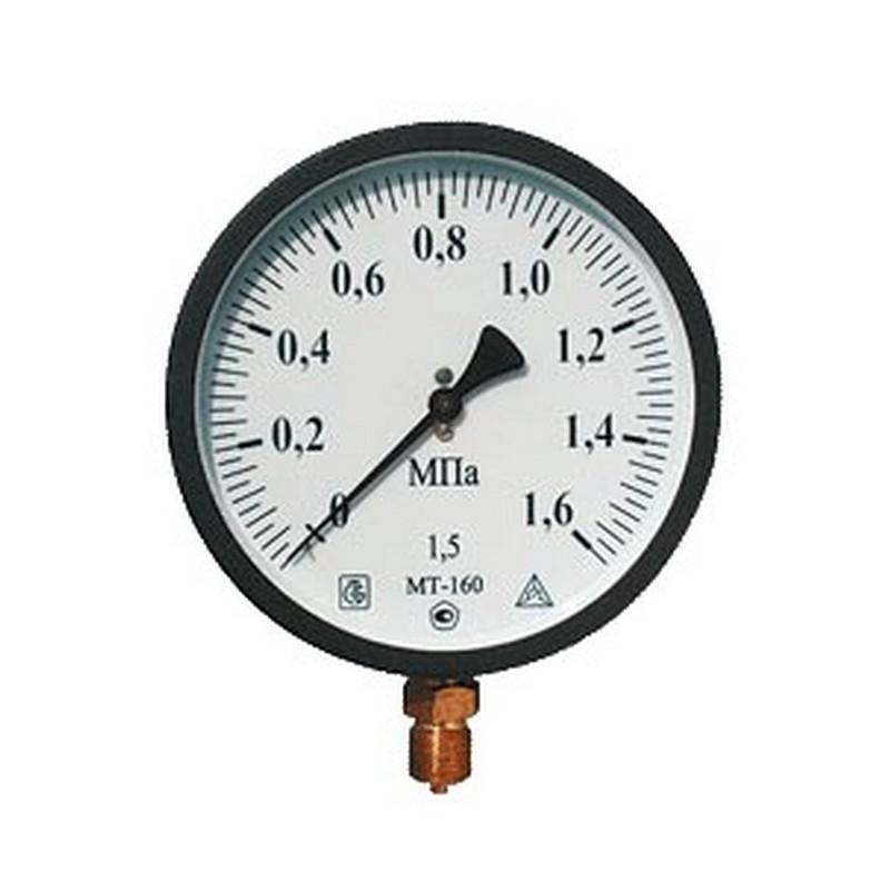 Манометр МТ100 (1,6 МПа)