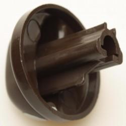 Ручка для плиты Гефест ПГ 1200, 3200 коричневая с каплей