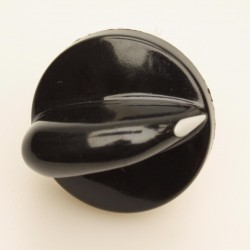 Ручка для плиты Гефест ПГ 1200, 3200 чёрная