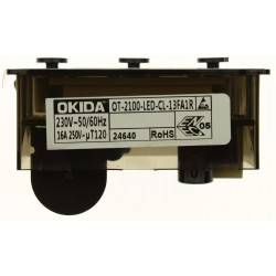 Электронный таймер для плиты Гефест OT-2100-LED-CL-13FA1R
