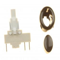 Кнопка розжига овальная для плиты Гефест ПГ 3200, ПГ 1200