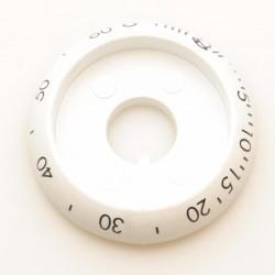 Воротник белый таймера духовки газовой плиты Gefest (Гефест) ПГ 3200, ПГ 1200 (1100.00.0.156-05)