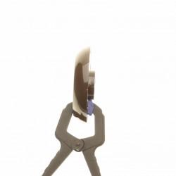 Воротник коричневый ручки крана без символов Gefest (Гефест) коричневый ПГ 3200, ПГ 1200 (1100.00.0.156-02)