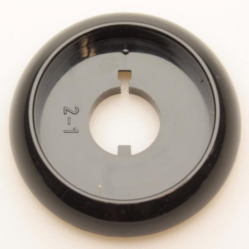 Воротник чёрный  крана горелки Gefest (Гефест) ПГ 3200, ПГ 1200 (1100.00.0.156-04)