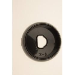 Воротник чёрный  крана горелки Gefest (Гефест) ПГ 5100-02, -03, -04 0004, 0068 (5100.00.0.055)
