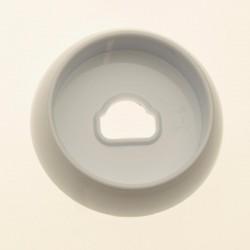 Воротник белый крана горелки Gefest (Гефест)  ПГ 5100-02, -03, -04 (5100.00.0.054)