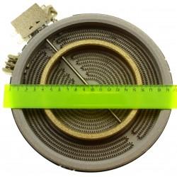 Нагревательный блок (пирокерамическая конфорка) 1700/700w EGO10.58211.004