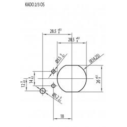 Клеммная колодка для плиты Гефест(Gefest) KADO 2/3 OS
