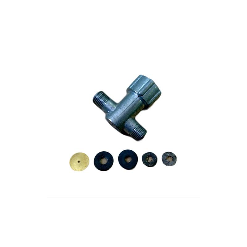 Тройник газового котла АОГВ 11.6 (Ростовский) 7768-000