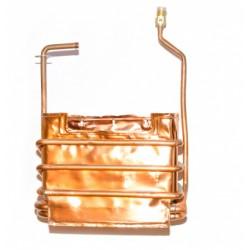 Теплообменник «Евро-20,-24» запасная часть к водонагревателю «Лемакс»