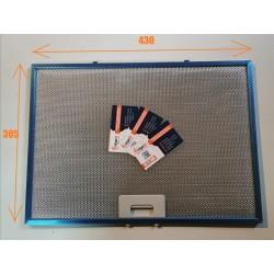 Жировой фильтр для вытяжки Гефест(GEFEST) 1603, 1504 (305х430мм)