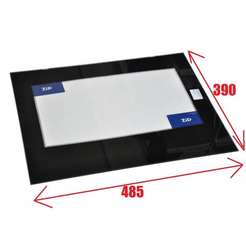 Стекло внутреннее на плиту Гефест ПГ 1200 С5-6-7, ПГ 6100-01,-02,-03,-04 после 2019 года выпуска (390*485мм) 6100.19.0.003-01