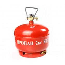 Польский газовый баллон 5л (4,8л)