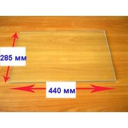 Стекло внутреннее для плиты Гефест 1100,1457 (440х285мм) 000.04.0.009