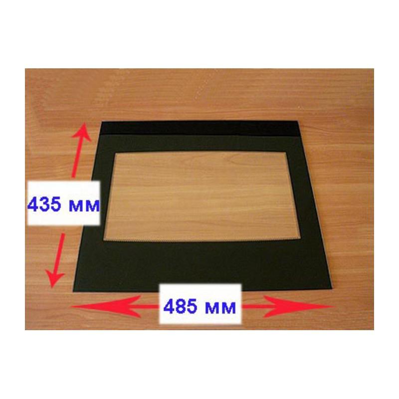 Стекло внутреннее на плиту Гефест 1200 С5-6-7 (485*435мм) 1200.18.0.004-01