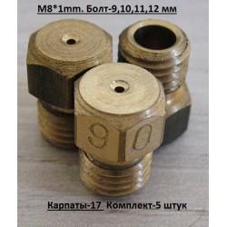 "Комплект жиклёров ""Карпаты-17"""