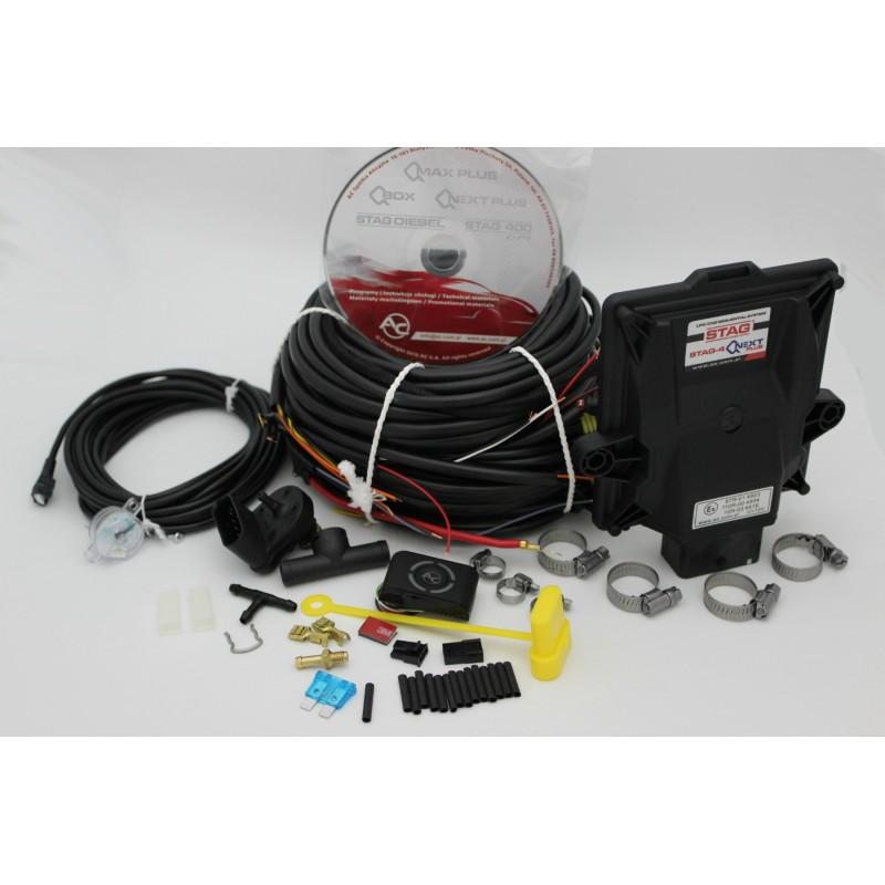 Электрокомплект AC STAG 4 QNEXT PLUS