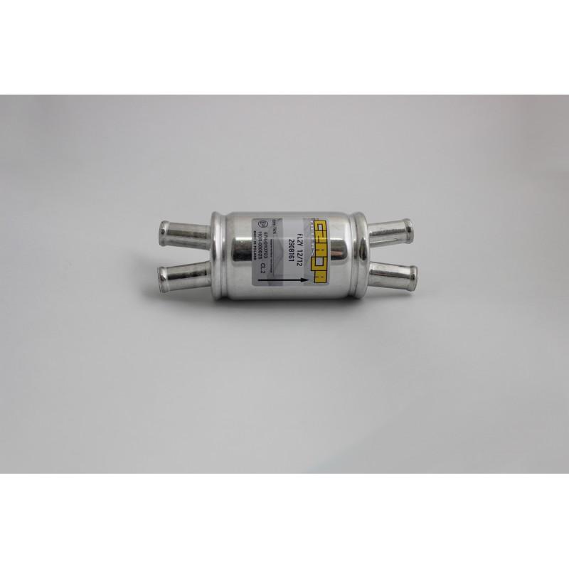 Фильтр паровой фазы  2/12-2/12 алюминиевый корпус