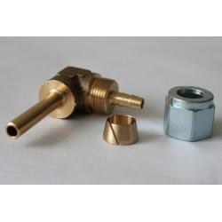 Соединетель FARO угловой для термопластиковой трубки D6мм