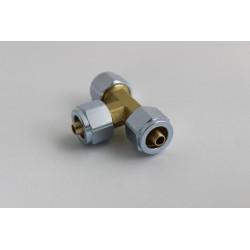 Тройник для термопластиковой трубки D8D8D8мм