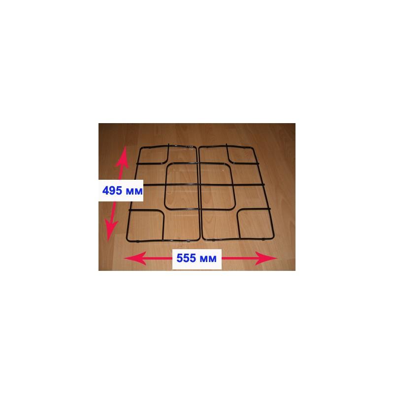 Решётка стола (половина) для газовой плиты Гефест ПГ 1100 1110.04.0.000